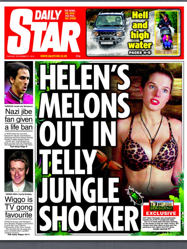 helen flanagan breasts Helen Flanagan has breasts   her future is assured
