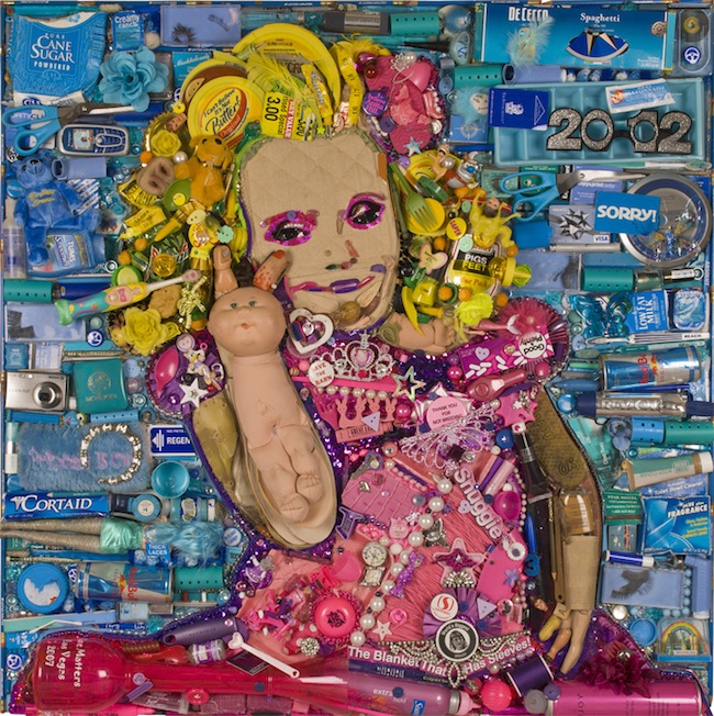 honey boo boo This Honey Boo Boo portrait is made from trash