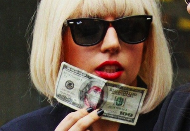 lady gaga obama money Lady Gaga wants to share Obamas cake