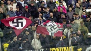 lazio nazis Spurs fans knifed: Lazio and Roma fans have been getting away with it for years