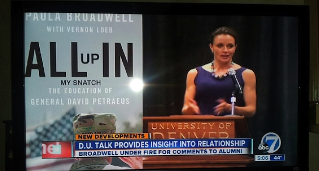 paula broadwell naked FAIL or WIN: ABC News calls David Petraeus book All up in my snatch