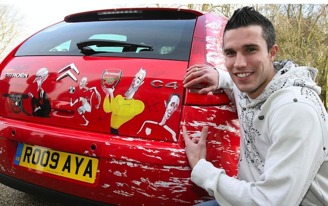 robin van persie disabled Manchester United mercenary Robin Van Persie parks in disabled bay for two days