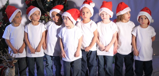 rocktuplets octomum Octomum: The Rocktuplets sing Im Ready For Christmas