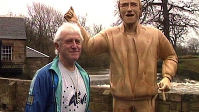 Come and sit with Jimmy Savile   council planned to add groping statue to Savile bench