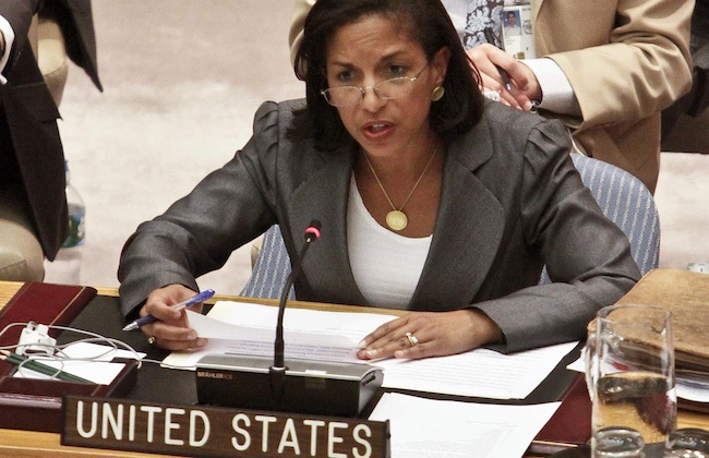susan rice incompetent Racists hated incompetent George Bush for being black