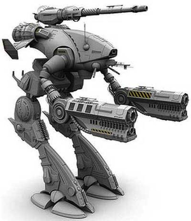 transformer russia exam Russian Revolution exam features BattleTech Marauder robot fighting for socialists