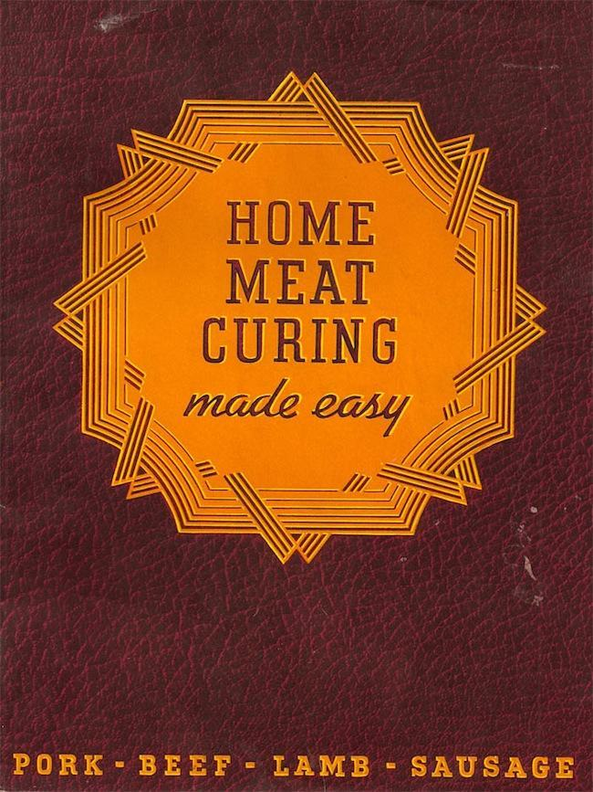 1 1941: Home Meat Curing Made Easy (with Pig FISTING)