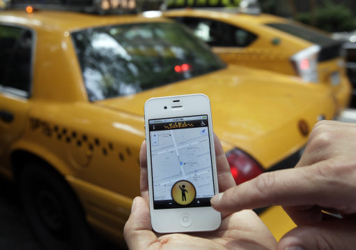 14258703 Why economic growth is so crap: the New York taxi cab app.