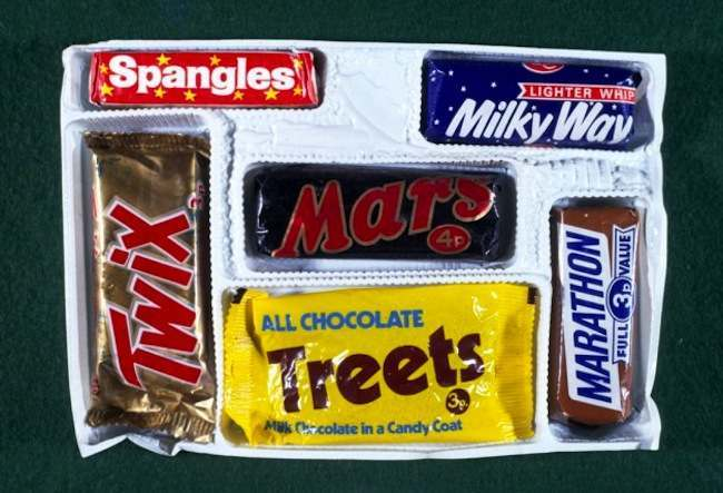 1971 selection box 1971: the Mars selection box