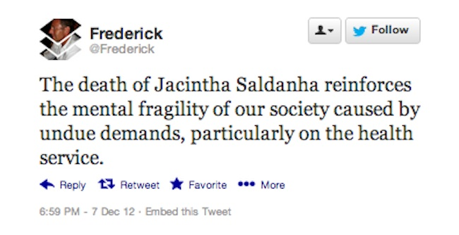 Jacintha Saldanha 8 Reactions to the death of nurse Jacintha Saldanha: Mel Greig and Michael Christian are killers?