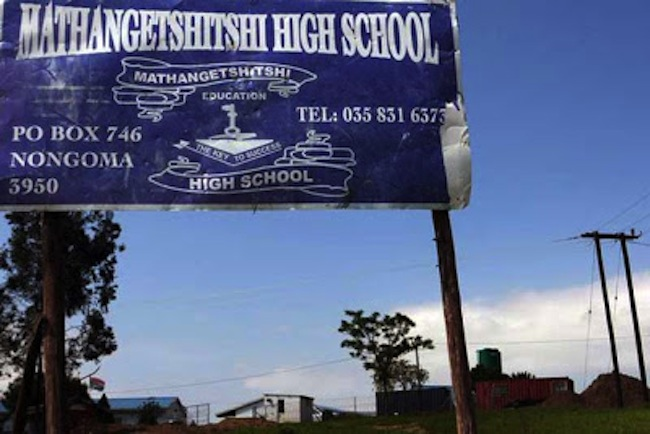 Mathangetshitshi school South Africas Thighs of a Virgin school protests name change