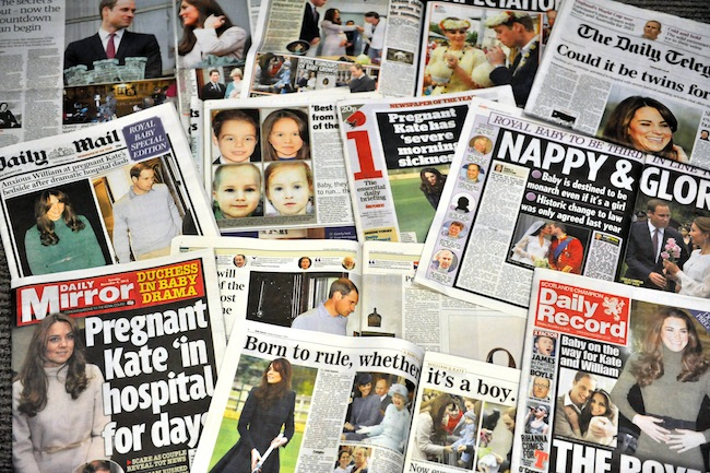 PA 15312763 Kate Middleton Pregnancy Watch: The Columnists who spend hundreds of words ignoring her