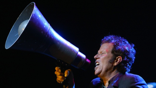 PA 5969360 Tom Waits and John Desmore write on allowing their songs to be used in adverts