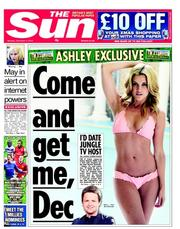 ashley robert declan Declan Donnelly quits showbiz to date Ashley Roberts (maybe)