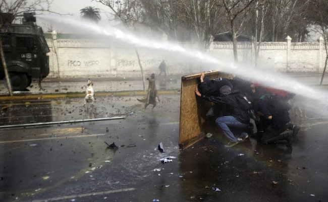 chile The most dramatic news photos of 2012