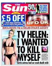 helen flanagan Famously depressed: Helen Flanagan explains her pride in not eating a turkeys anus