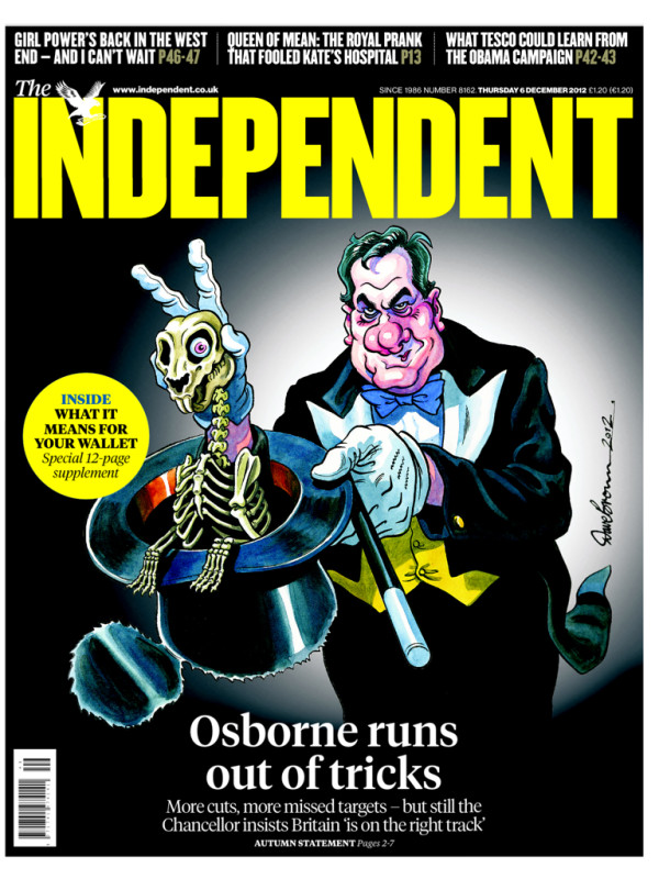 indy Papers react to George Osbornes Autumn Statement