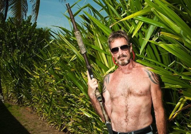 john mcafee John McAfee: Vice magazine shopped and glorified man wanted in connection wit