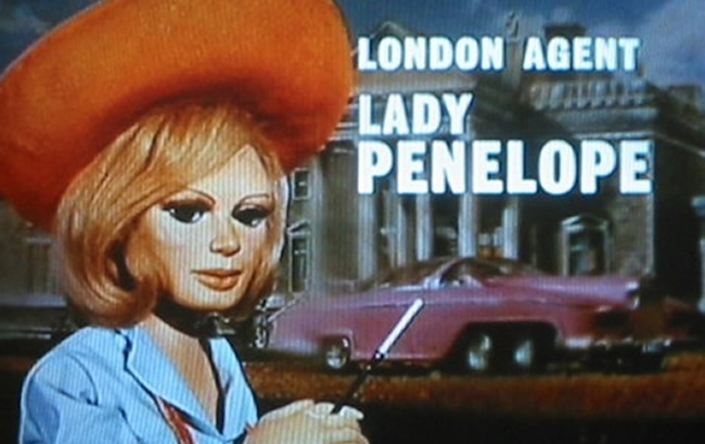 lady penelope anderson Did Lady Penelope break up jealous Gerry Andersons marriage to Sylvia?