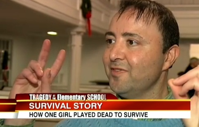 pastor jim solomon Six year old girl survived Sandy Hook massacre by playing dead for God