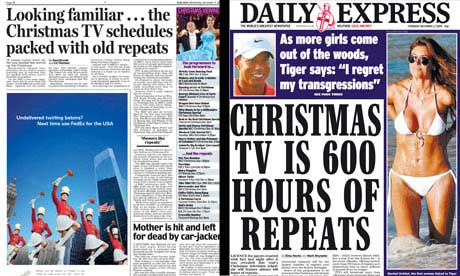 repeats express Daily Express hate TV repeats   broadcasts Ben Hur