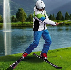 ski golf1 Ski bores turn to golf as slopes turn green