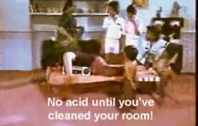 subtitle fail Indian mum says no acid until youve cleaned your room