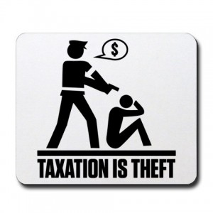 tax theft Theyve got more than one way of stealing your money you know