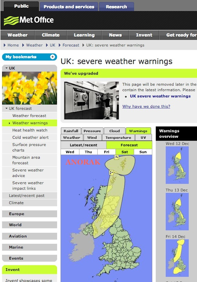 weather penis met office Met Office spots huge penis over Scotland