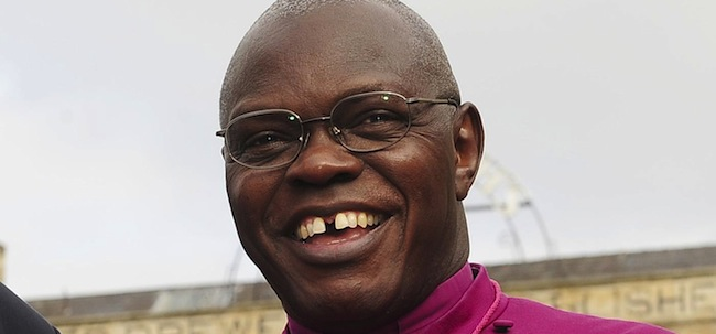 PA 15427035 Archbishop Sentamu spouts nonsense about being fair
