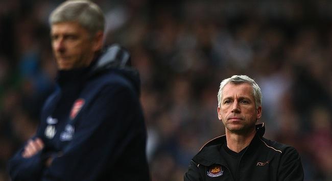 PA 4118527 Alan Pardew turns Newcastle United into a more French version of the Arsenal he mocked