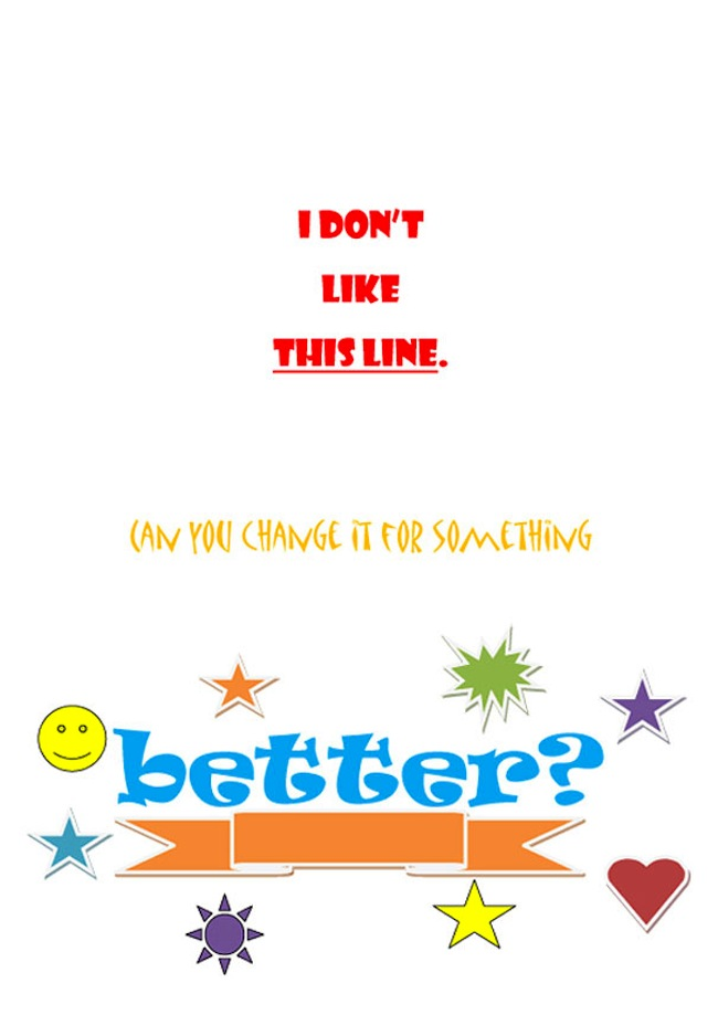 client posters 20 Your terrible client comments are now posters
