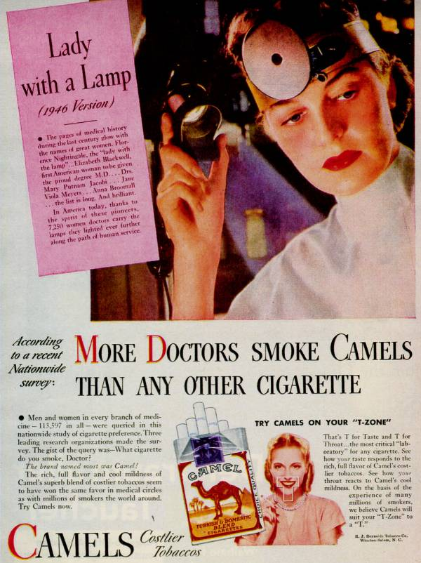 doctors Can Tobacco Make You Healthier?