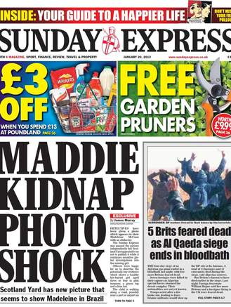express 1 329x437 Madeleine McCann: On the road to Brazil with dead Raymond Hewlett