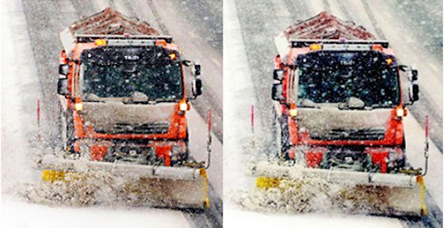 express snow Daily Express sees double snow ploughs in Cumbria