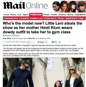 heidi klum leni 295x300 Daily Mail pervs at Heidi Klums 8 year old daughter Leni
