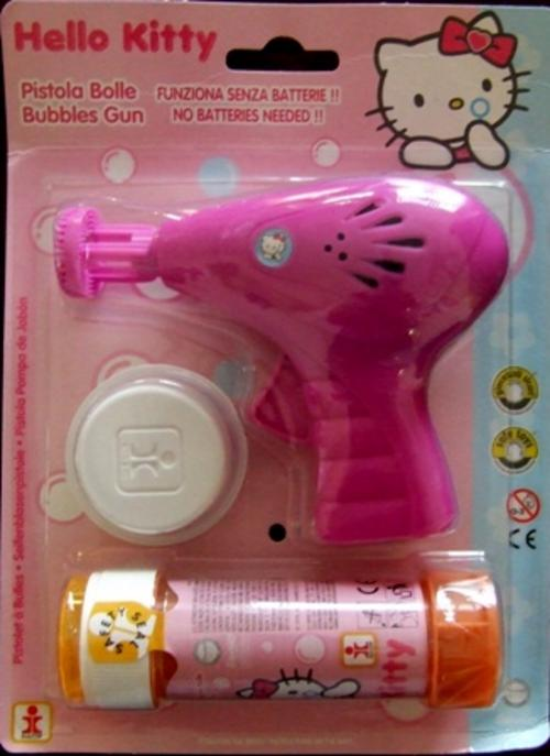 hello kitty gun Toddler suspended from school for threatening classmate with Hello Kitty gun
