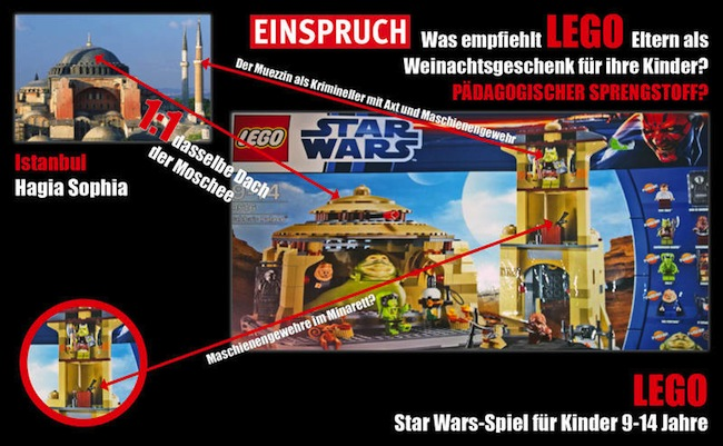 racist lego jabba Not all Turks are Muslims: Daily Mail and bigots twist Stars Wars Lego race row to target Islam