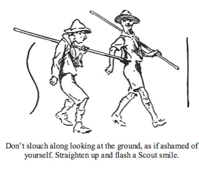 scouting for boys 4 Scouting for Boys extracts: Robert Baden Powell gave Pink Floyd their brick in the wall?