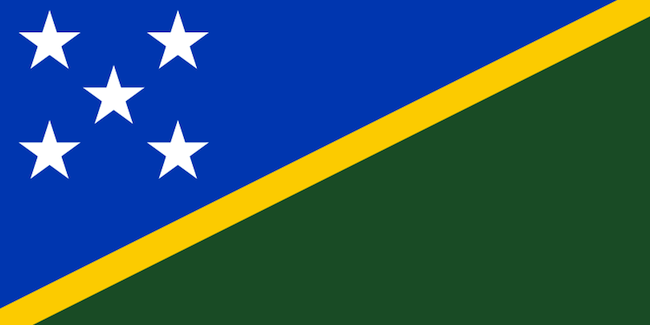 solomon Islands Australians showcase new national flag: the Stars and Stripes