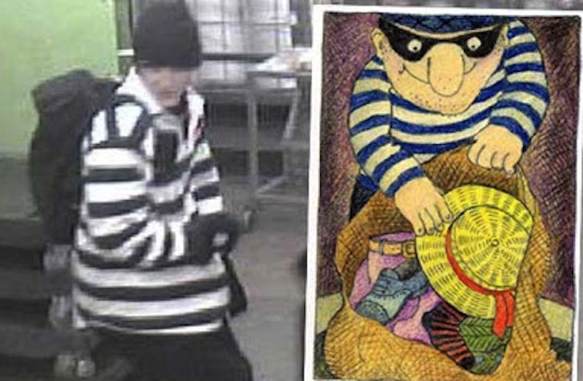 thief Man disguised as burglar robs Essex Waitrose 
