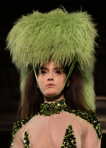 Pam Hogg Catwalk - London Fashion Week 2013