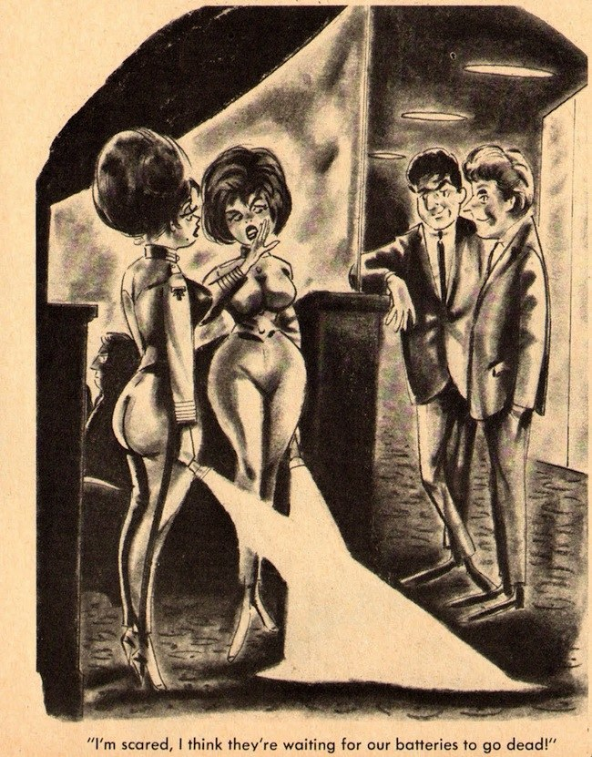 Bachelors Best 1968 No7 054 Saucy cartoon jokes in vintage adult girlie magazines