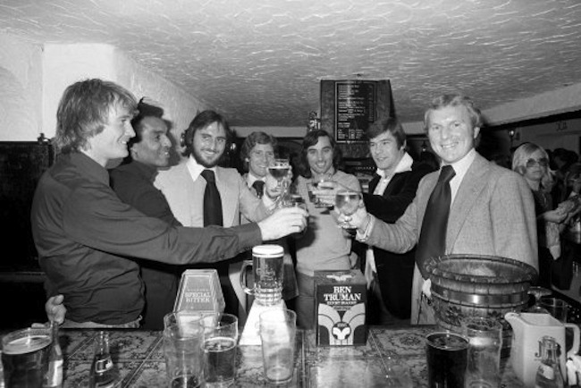 Moore3 1 The other side of West Ham and Englands Bobby Moore King of the Bar Stool