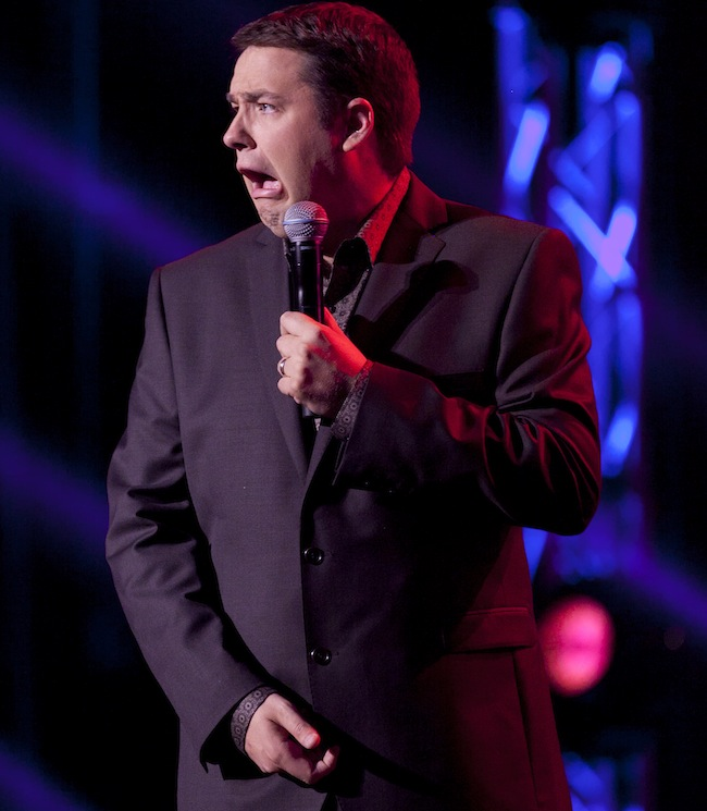 PA 11462069 When Jason Manford met a stripper called Stacey she updated his Wikipedia entry