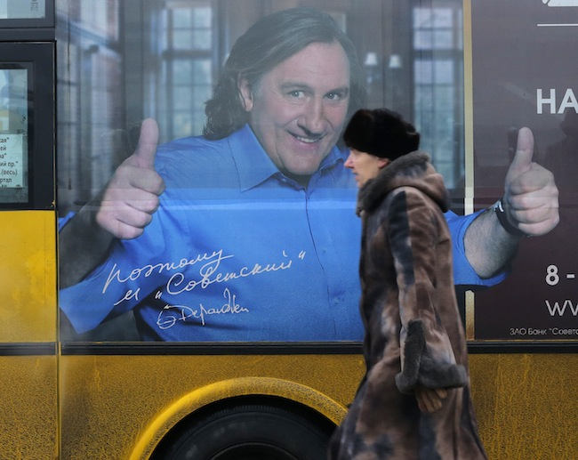PA 15506230 Gerard Depardieus Russian travelogue in photos