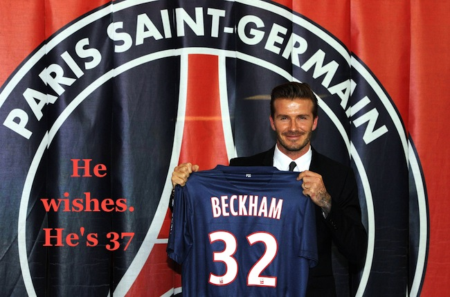 PA 15687198 Why is David Beckham only playing in France for 5 months: tax