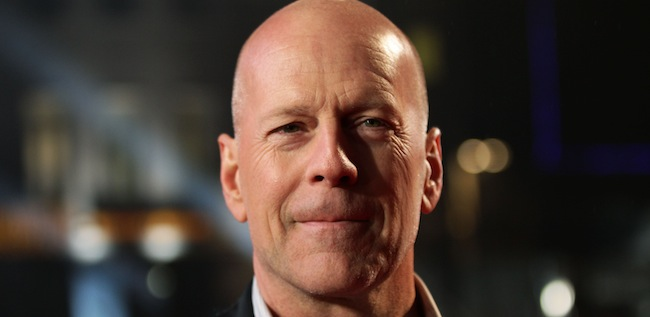 PA 15737027 Die on your arse: Bruce Willis stars in an awkward The One Show interview