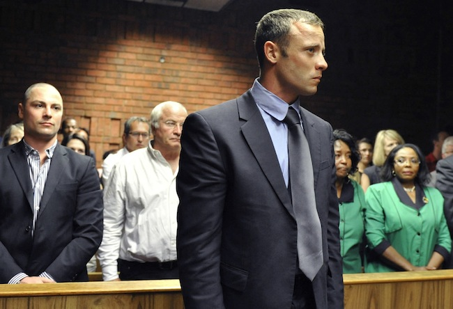 PA 15845459 Oscar Pistorius murder trial: My legs were off, she was doing yoga