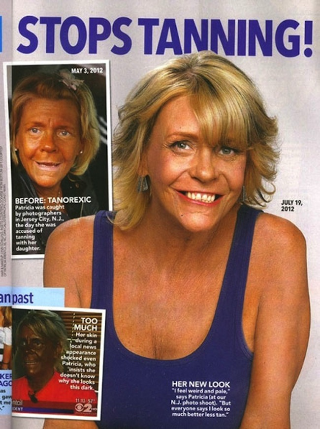 Patricia Krentcil 1 Tanning mom Patricia Krentril heads to London in search of the suns rays